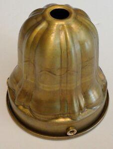 Solid Brass 2 1 4 Inch Fitter Lamp Sheffield Style Shade Holder Ebay