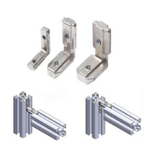Profile T Slot Brace Corner Connector L Shape Round Angle Aluminum Fr 3D Printer