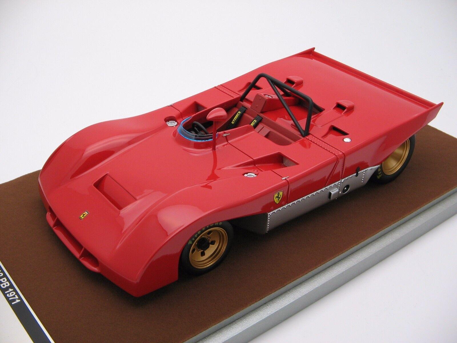 nuovi prodotti novità 1 18 scale Tecnomodellolo Ferrari Ferrari Ferrari 312PB Press 1972 TM18-61A  più preferenziale