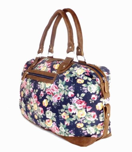 viaggio da viaggio floreale Borsa weekend donna borsa da borsa da donna da per viaggio per BnwASqw5x
