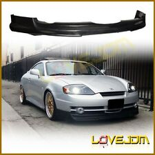 Bk V Urethane Front Bumper Lip Spoiler Body kit fit for 03-04 Hyundai Tiburon PU