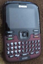 Kyocera Torino S2300 Black (Revol Wireless) Cellular Phone Fast Shipping MINT