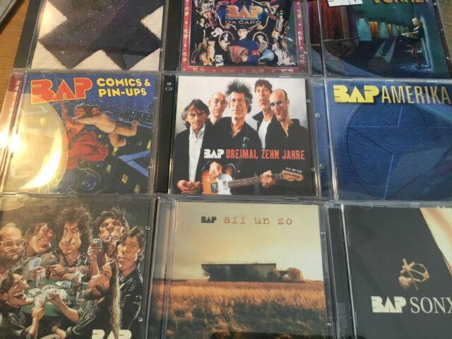 Bap [9 CD Alben] Sonx Tonflim Aff un Zo Comics Amerika Da Capo Dreimal Zehn Jahr
