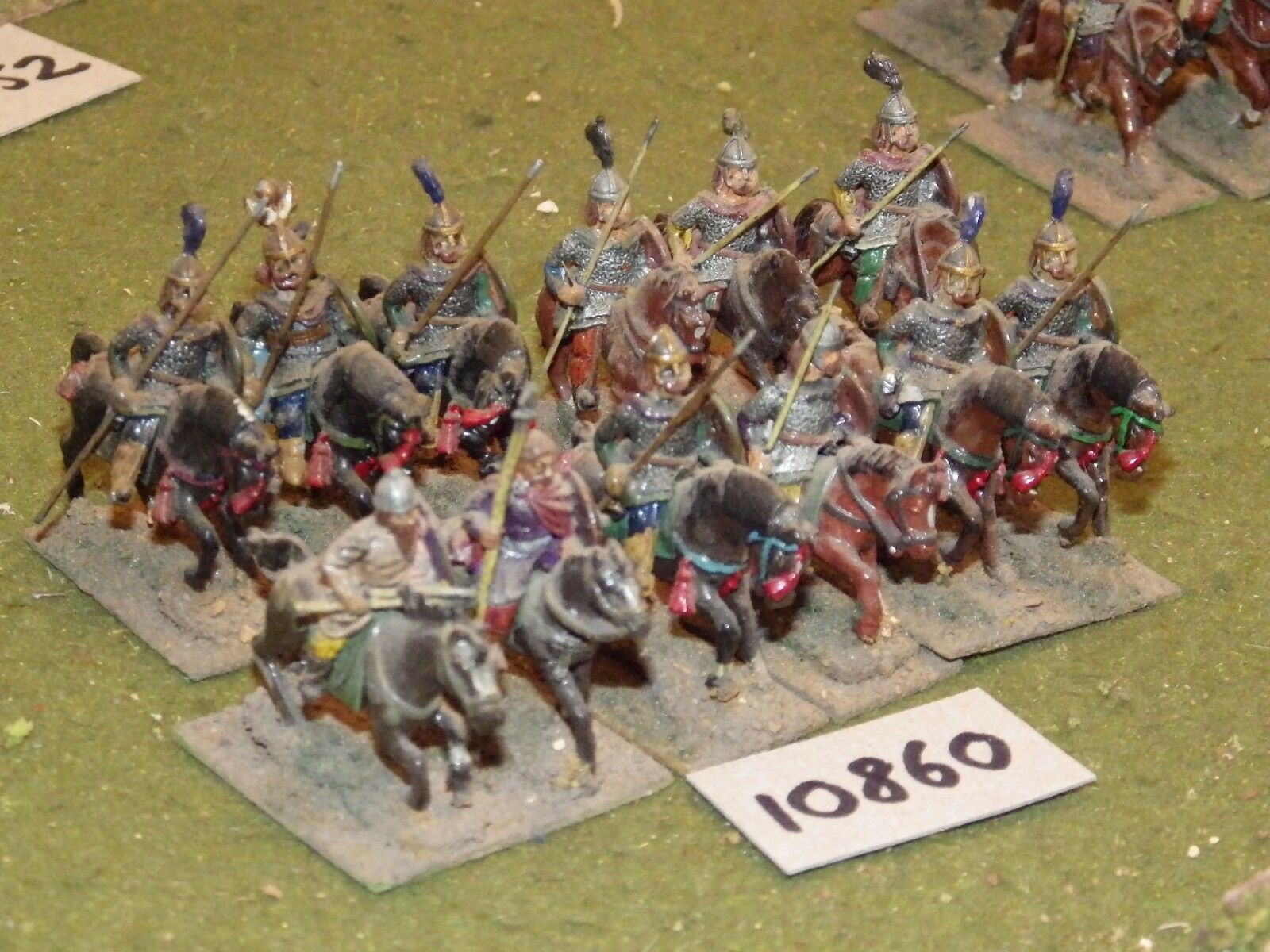 25mm dark ages   hun - cavalry 12 cavalry - cav (10860)