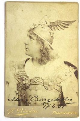 Antiquitäten & Kunst Alois Burgstaller Kabinett Foto Mit Autogramm Und Datierung Klar Und Unverwechselbar