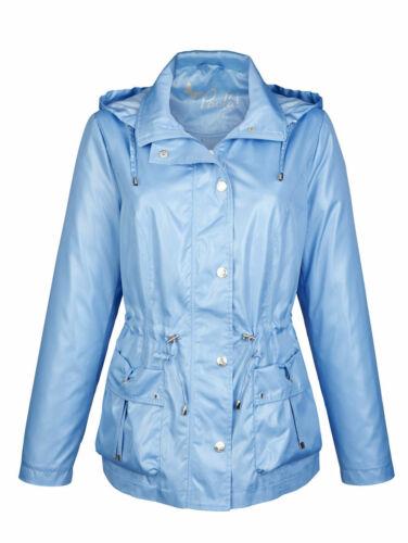 Jacke Sommerjacke Damenjacke Leichte Jacke Freizeitjacke blau Gr 50  NEU