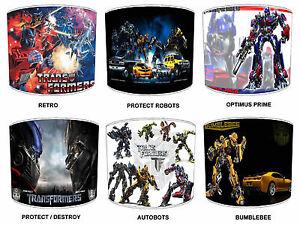 Transformers-Pantallas-de-Lampara-Para-Combinar-infantil-AUTOBOTS-duvets