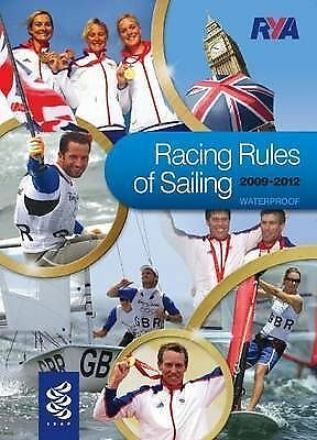 RYA Racing Rules of Sailing 2009-2012 Paperback Book The Cheap Fast Free Post
