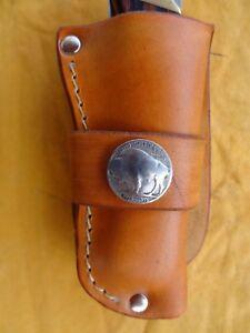 Handmade-Leather-Knife-Sheath-Fits-Buck-110-and-Large-Folders
