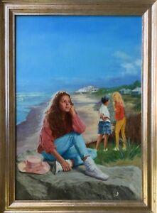 Pintura Al óleo Originales Algún Día Voy A Reír Sobre Este Stuart