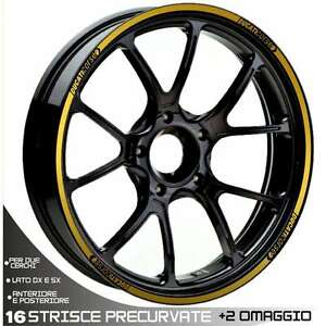 2019 DernièRe Conception Profili Cerchio Ruota Adesivi Ducati Corse Oro 748 749 848 998 1098 1198 1199 Les Couleurs Sont Frappantes