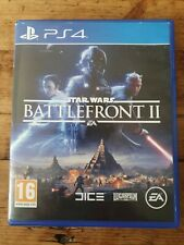 Star Wars: Battlefront II (PS4 PlayStation 4, 2017)