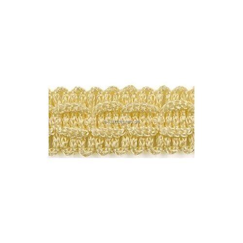 25m Zierband 15mm Bänder Borte Gestrickt Farbvielfalt Schmuckband Deko