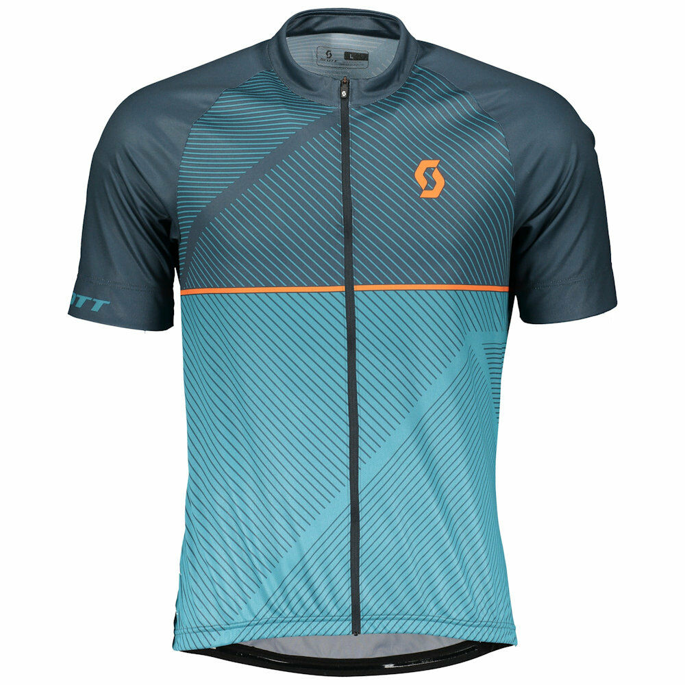Scott Endurance AS 30 Blu Maglia ciclismo manica corta  TG M