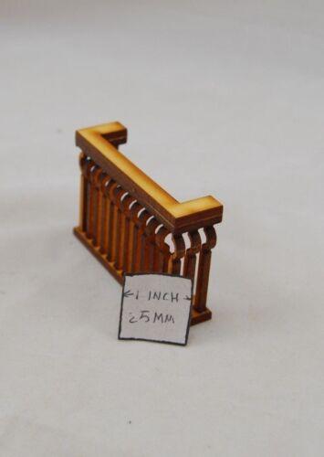 Balcony dollhouse miniature 1:12 scale USA made #2505