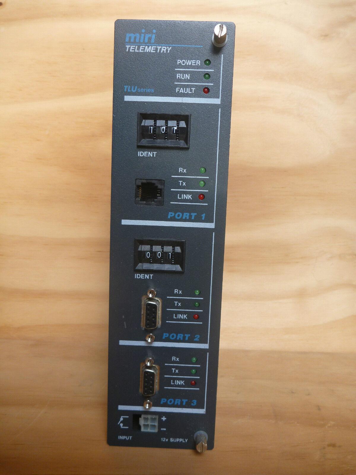 MIRI TECHNOLOGIES TLU 241 PLC GATEWAY