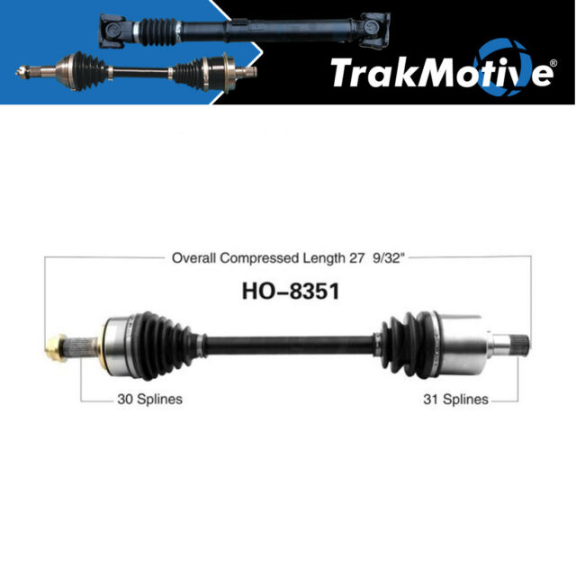 Surtrack 1PC FRONT LEFT Cv Axle Shaft For 2010-2014 Acura
