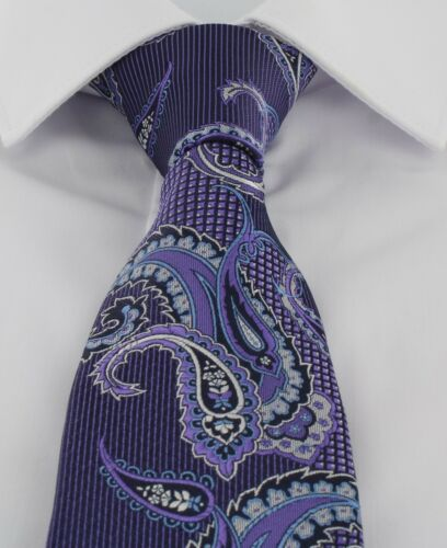 Michelsons of London Twill Paisley Cravate