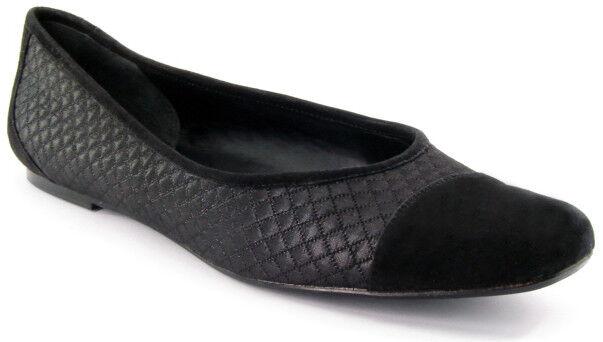 Nuevo Mujeres Negro Negro Negro Tela gamuza de ballet Bandolino plana Slip On Comodidad Zapato Talla 10 M  soporte minorista mayorista