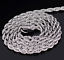 2-4mm-Fashion-925-Silver-Solid-Twist-Rope-Chain-Necklace-Wedding-Jewerly-16-30-034 thumbnail 5