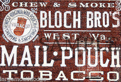 WEATHERED BUILDING SIGN HO O DECAL PHILLIES CIGAR