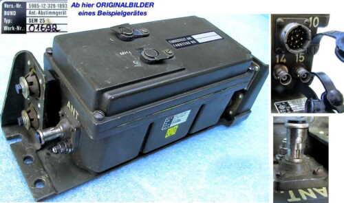 BUND SEM25 35 Antennenabstimmgerät Anpassgerät Antenne Matchbox Tuner Telefunken