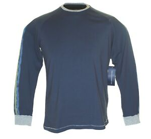 Bnwt-Men-039-s-Fcuk-French-Connection-Long-Sleeved-T-Shirt-Top-RRP-40-Blue-New