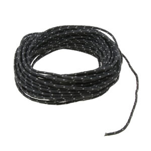 2-5mm-50ft-Camping-Tent-Reflective-Guyline-Rope-Awning-Tarp-Paracord-Black