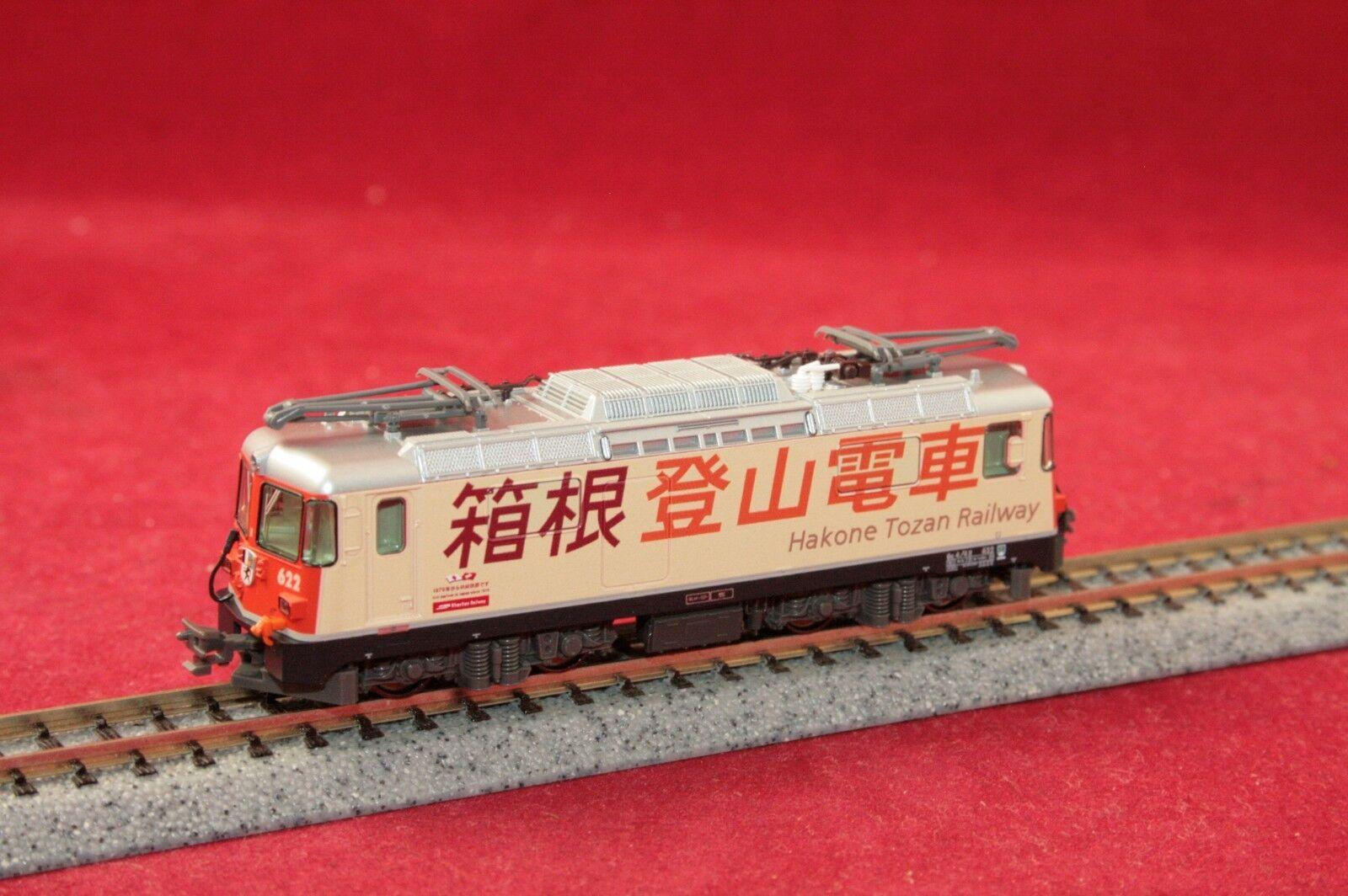 Kato 7074048-1 e-Lok ge 4 4 II  Hakone Tozan Railway  622 RHB luz cambio Nuevo