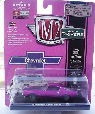 1970 Chevrolet Camaro z//28 RS satin-ROSE *** m2 machines 1:64 ** Soldes **