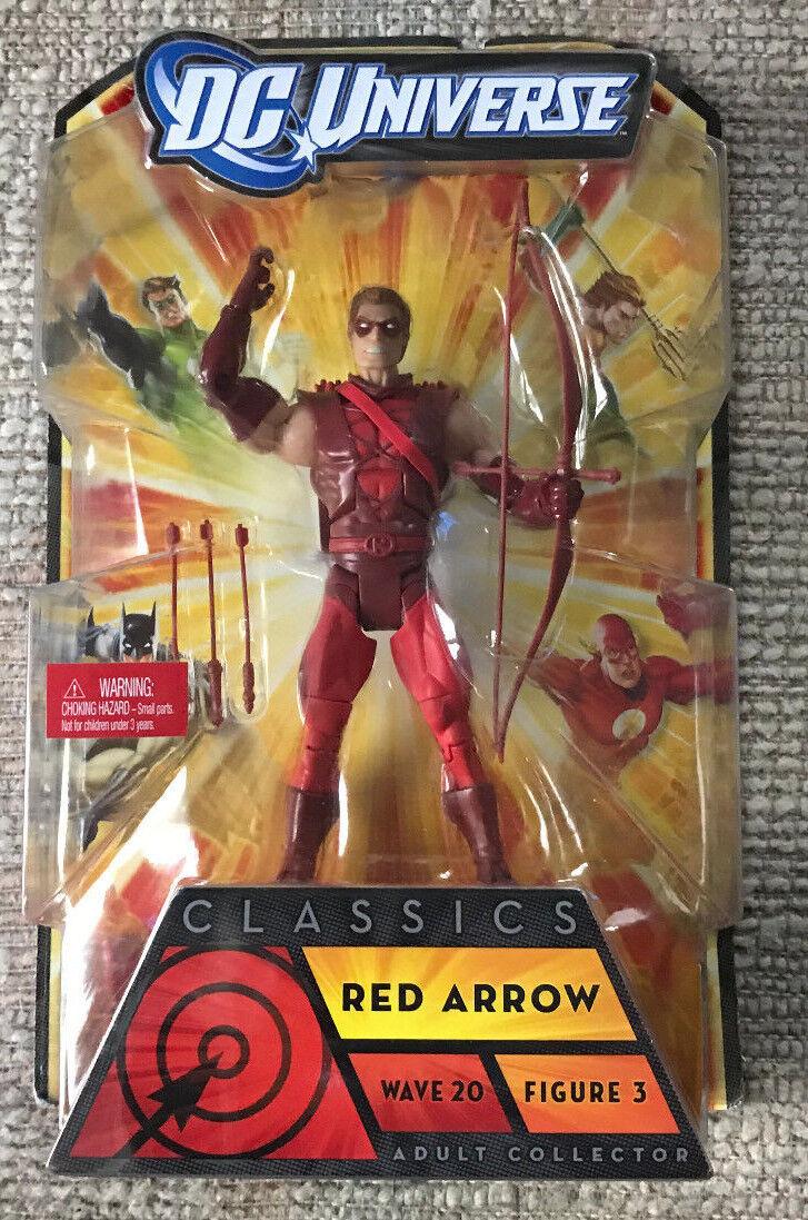 Dc - universum klassiker winken 20 rot arrow actionfigur moc