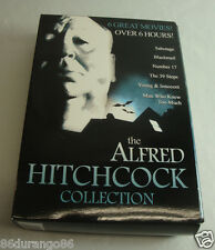 ALFRED HITCHCOCK COLLECTION 6 MOVIES BOX SET VERY GOOD USED CONDITION