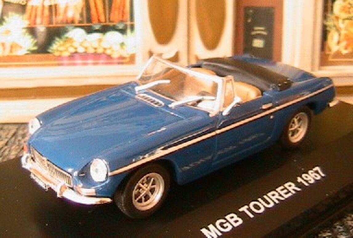 MGB TOURER 1967 CABRIOLET EDISON EG 1 43 BRITISH CAR ROADSTER blueE blue blue