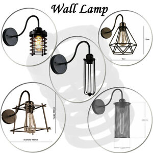 Modern-Retro-Wire-Frame-Ceiling-Pendant-Wall-Shades-Easy-Fit-Lighting-Lamp-Shade