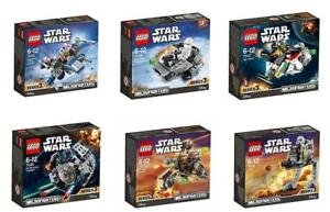 Lego Star Wars 2016 microfighters séries 3 75125 75126 75127 75128 75129 75130 							 							</span>