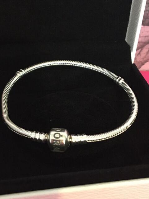 BN Pandora Moments Snake Chain Bracelet size 7.9 | eBay