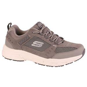 enjoy best price utterly stylish fashion Details about Men's Skechers OAK CANYON 51893GYW EWW Grey Lace-Up Athletic  Walking Shoes