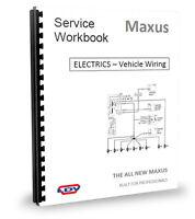LDV Maxus Van Wiring Diagram & ELECTRICS 2.5CDi 05