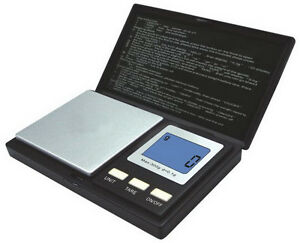 500g x 0.1g Mini Digital Pocket Scale Gram Jewellery, LCD Screen - 1yr warranty! 6025715967107