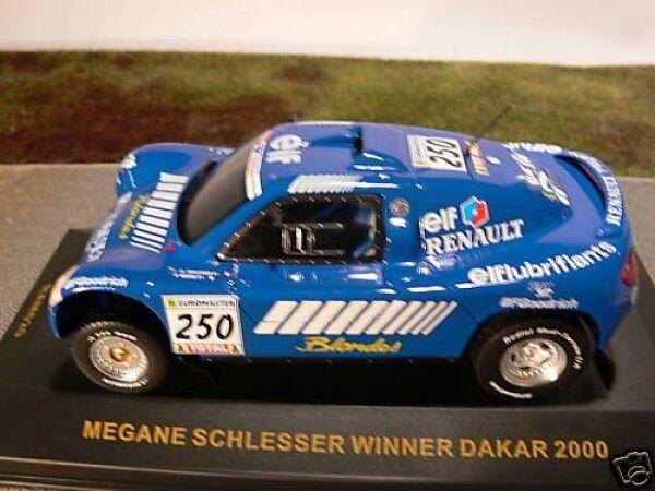 1 43 IXO Megane Schlesser Winner Dakar 2000