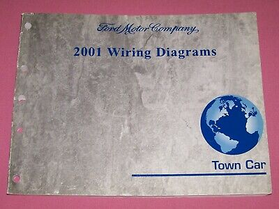 2001 Lincoln Town Car Factory Wiring Diagrams Manual | eBay