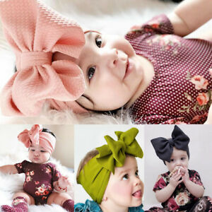 206164681 Image is loading Fashion-Infant-Toddler-Baby-Girls-Bow-Headband-Hairband-