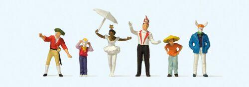 Preiser 24645 H0 Figuren beim Karnevalsumzug 4