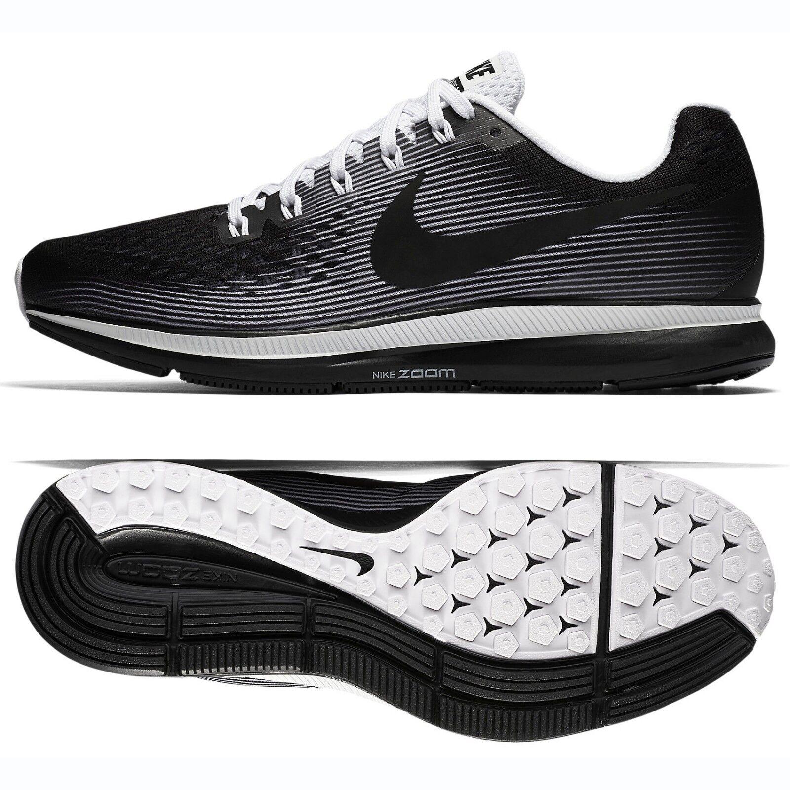 Nike Air Zoom Pegasus 34 LE 883268-001 Black/White Men's Running Shoes