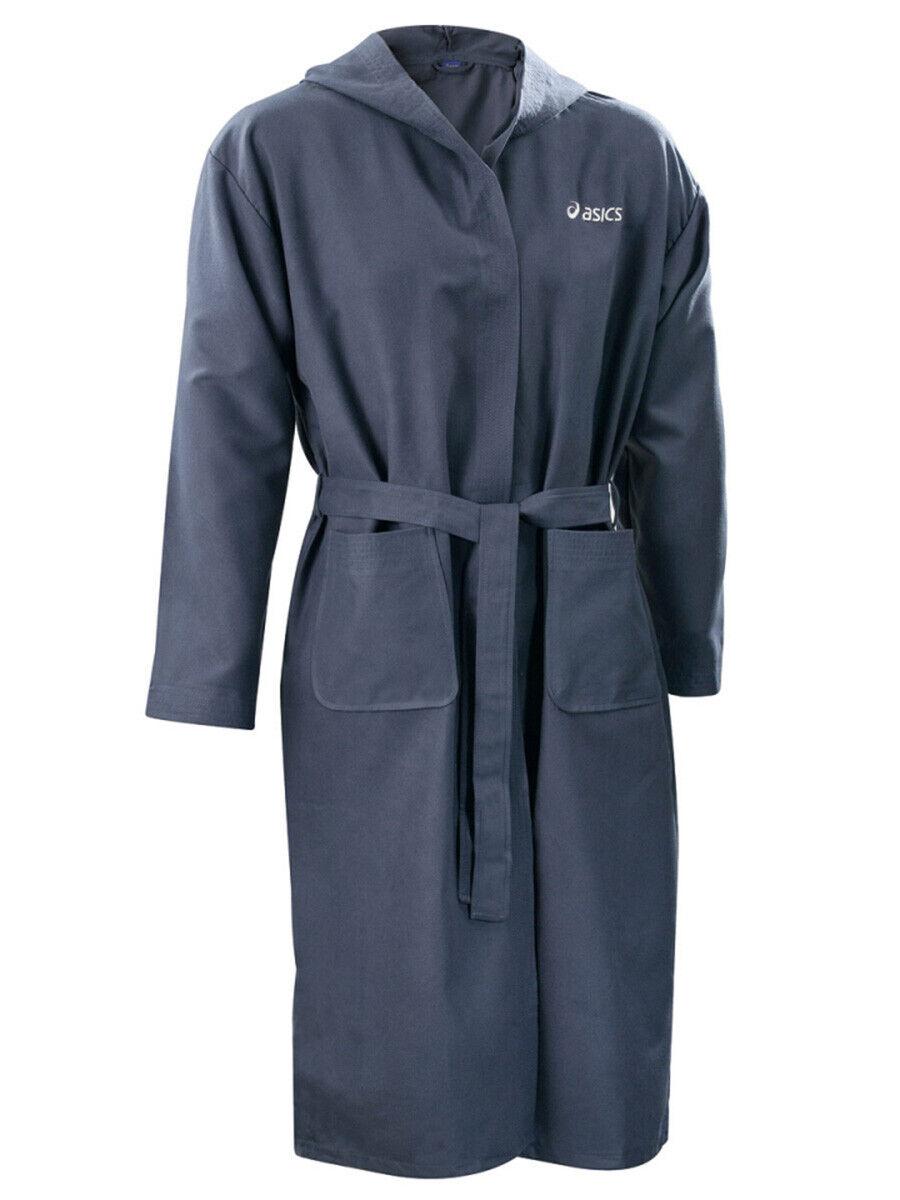 Asics Unisex Swimming Robe - Blue - New