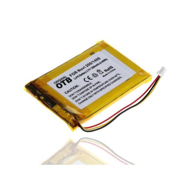 Akku accu battery Batterie für Garmin Nüvi 1450 Navigationsgerät - 1200mAh
