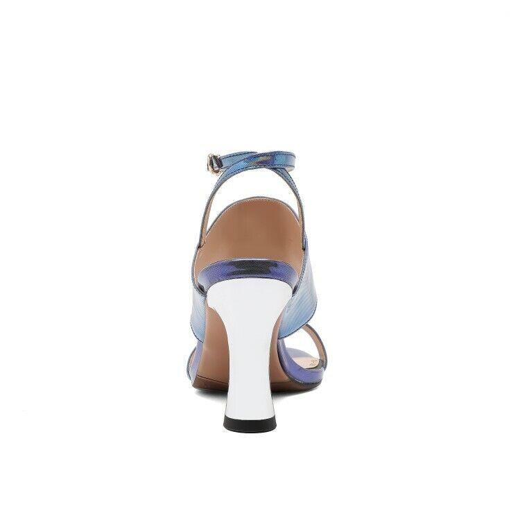 Fashion Women Slingback High Heels Peep Toe Buckle Sandals Sandals Sandals Casual shoes US 4.5-8 51965b