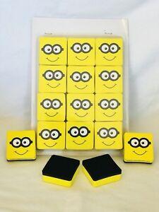 Dry Erase Erasers ! Best Magnetic Dry Whiteboard Erasers,12 Pack,2x2 Inch Eraser