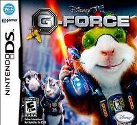 Nintendo DS G-Force VideoGames