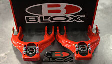 Blox RED Front Camber Kit For 92-95 Honda Civic 94-01 Acura Integra EG DC2